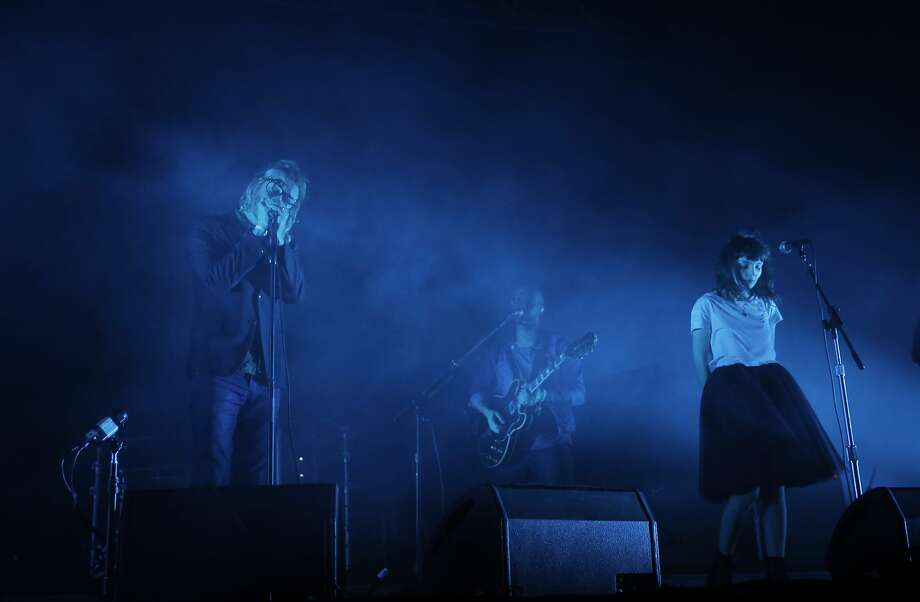 "The National performs ""I Need My Girl"" featuring Lauren Mayberry of Chvrches during the Treasure Island Music Festival on Treasure Island, in San Francisco, Calif., on Sunday, October 18, 2015. Photo: Carlos Avila Gonzalez, The Chronicle"