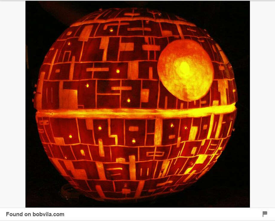 You bought a pumpkin this weekend and still have no idea what to do with it. You're in luck! We compiled some of the best pumpkin designs from Pinterest, and don't worry, some of them don't even require carving.Death star See the most creative pumpkin designs of 2015. Photo: Pinterest