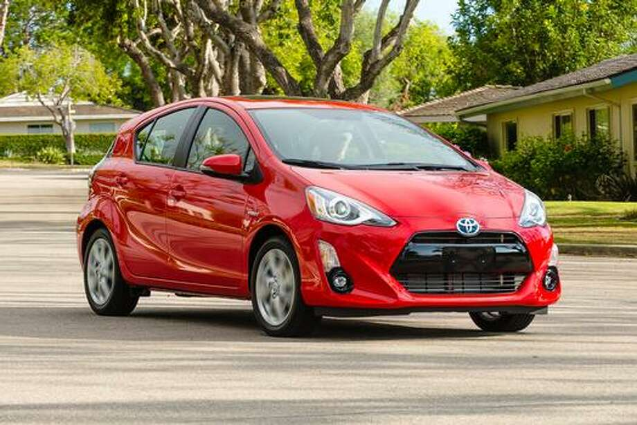 The all new 2016 Prius c.