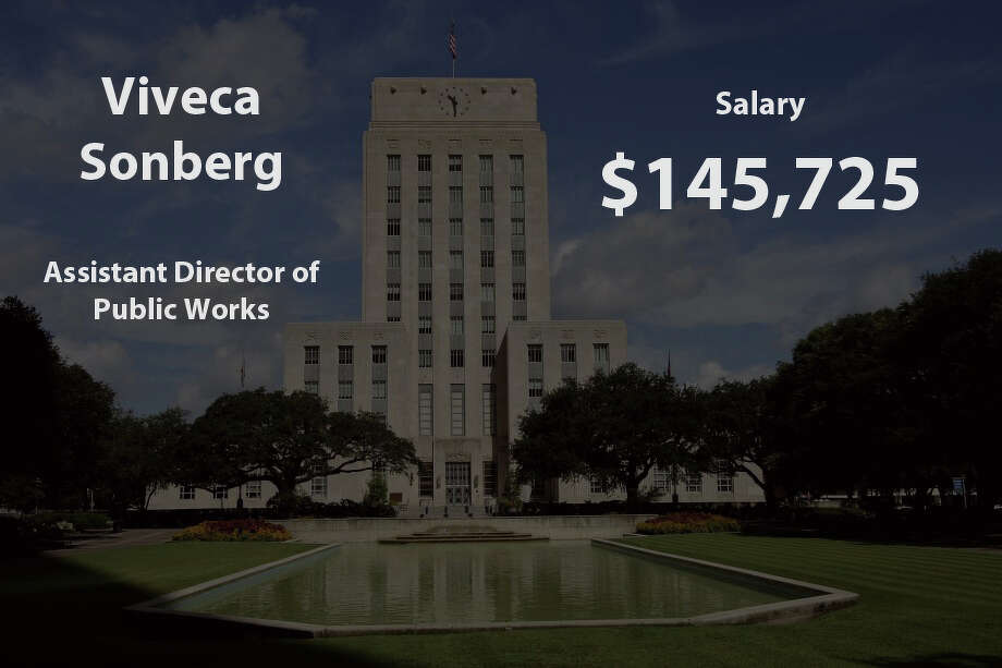 See the top female earners for the City of Houston. Photo: City Of Houston