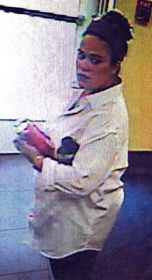 Police are looking for this woman, who they said used a stolen credit card at a rest stop on the Merritt Parkway. Photo: Contributed Photo / Fairfield Citizen /  Fairfield Citizen contributed
