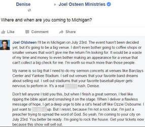 Joel Oldsteen' trolls Joel Osteen hard on Facebook - Houston Chronicle