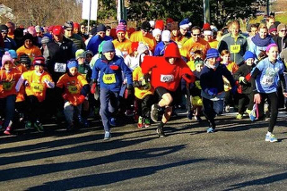 A scene from the 2014 Greenwich Alliance for Education Turkey Trot. Photo: Contributed Photo