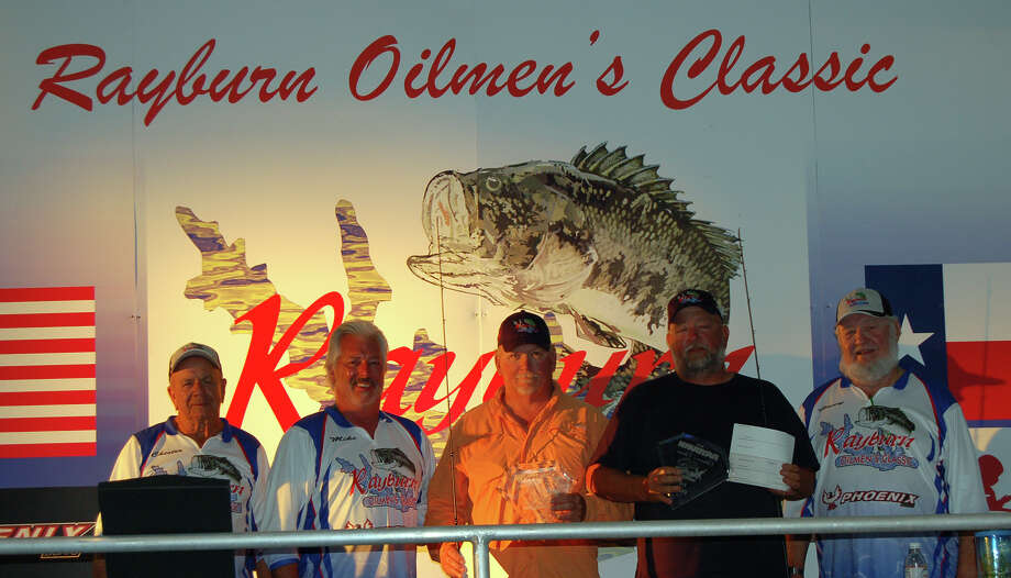 The Rayburn Oilmen's Classic Directors crown Paul Wilson and Donald Randall Champions of the 2015 event Photo by Patty Lenderman, Lakecaster Photos from this event are available for sale. Contact plenderman@thelakecaster.com
