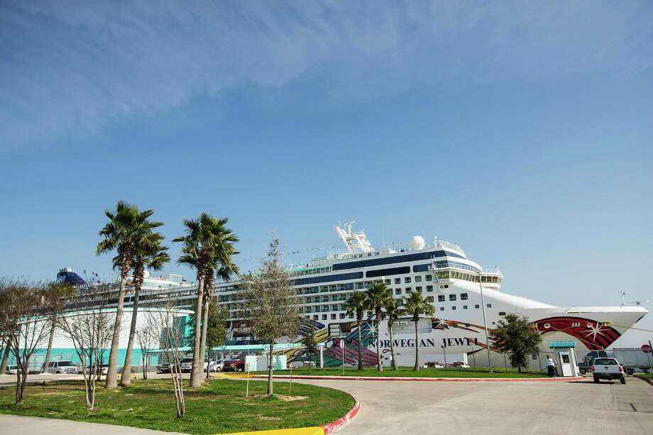 The Norwegian Jewel cruise ship docked at Bayport in February. That terminal is losing two cruise lines after next spring. Photo: Brett Coomer, Staff / © 2015 Houston Chronicle