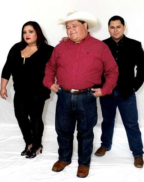 Destiny Navaira (left) and Rigo Navaira (right) join dad Raulito Navaira in the Tejano band Remedio, along with a younger sister and a cousin. Photo: Courtesy Photo