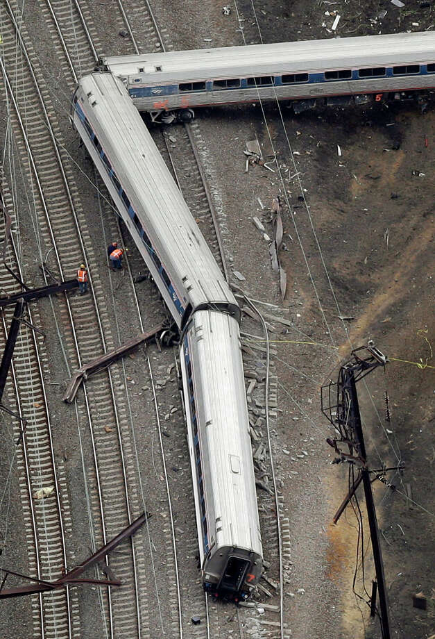 Experts say a safety system called positive train control might have averted a deadly May 13 Amtrak accident in Philadelphia and other train derailments.  (AP Photo) Photo: Patrick Semansky, STF / AP