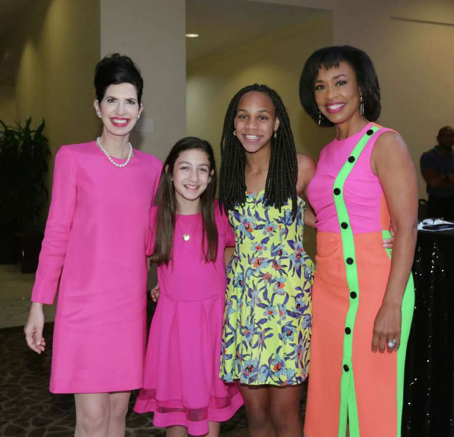 Kelli Cohen Fein, Jordan Fein, Lauren Elie and Gina Gaston Elie Photo: Jon Shapley, Houston Chronicle / © 2015  Houston Chronicle