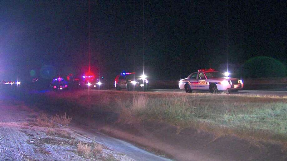 A man was rushed to University Hospital around 2:30 a.m. after being shot in the shoulder on Interstate 35. Photo: 21 Pro Video