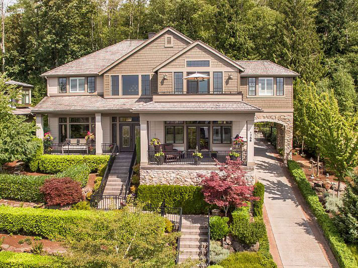 This Issaquah home has a bit of everything. It's large at 4,280 square feet. And its lot is twice that size. For more information, go here