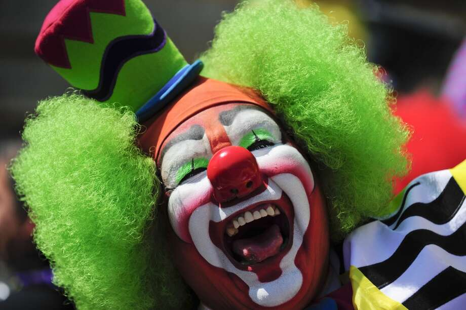 The International Clown Convention in Mexico City has been around for two decades. A brotherhood of those dedicated to the craft and profession have been gathering here for 20 years.   Keep clicking to see images from this years convention. But warning, if you're afraid of clowns, this might be nightmare inducing. Photo: ALFREDO ESTRELLA, AFP/Getty Images