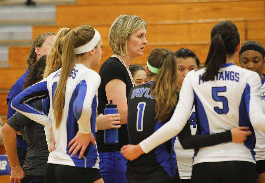 Katy Taylor head volleyball coach Brooke Plemons has her team back in the postseason for the fourth consecutive season. Photo: Diana L. Porter, Freelance / © Diana L. Porter