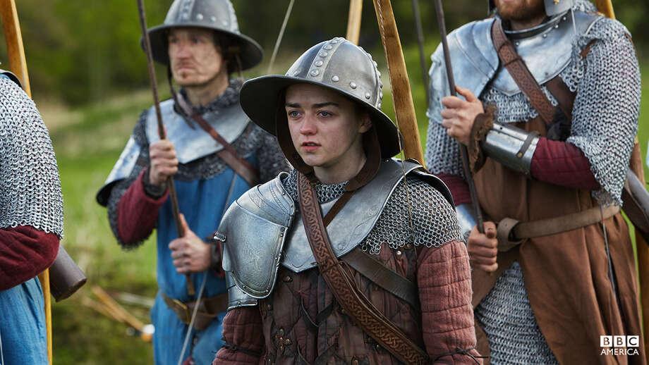 Maisie Williams plays Ashildr, a storyteller. Photo: BBC America
