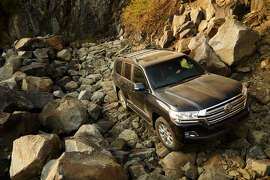 The 2016 Toyota Land Cruiser