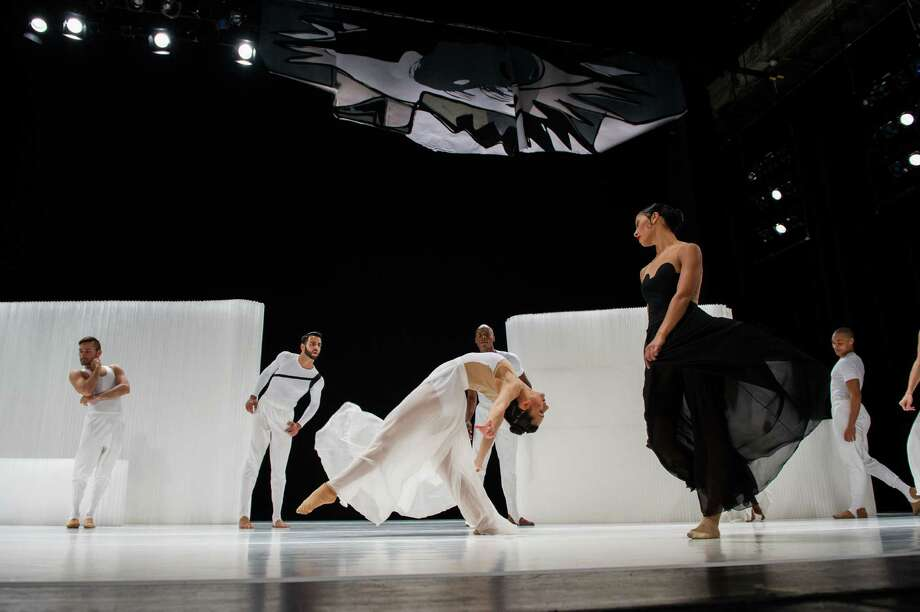 "Ballet Hispanico performs Gustavo Ramirez Sansano's  ""CARMEN.maquia"" at 8 p.m. Oct. 24 in Jones Hall. The narrative dance is a contemporary retelling of  ""Carmen"" with sets and costumes inspired by Pablo Picasso. Photo: Paula Lobo / Paula Lobo"