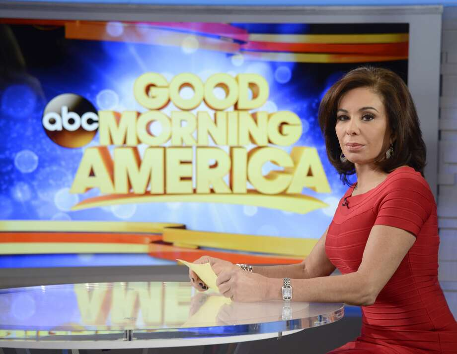Former prosecutor and judge Jeanine Pirro appears on GOOD MORNING AMERICA, 3/24/15, airing on the ABC Television Network. (Photo by Ida Mae Astute/ABC via Getty Images) Photo: Ida Mae Astute/ABC Via Getty Images