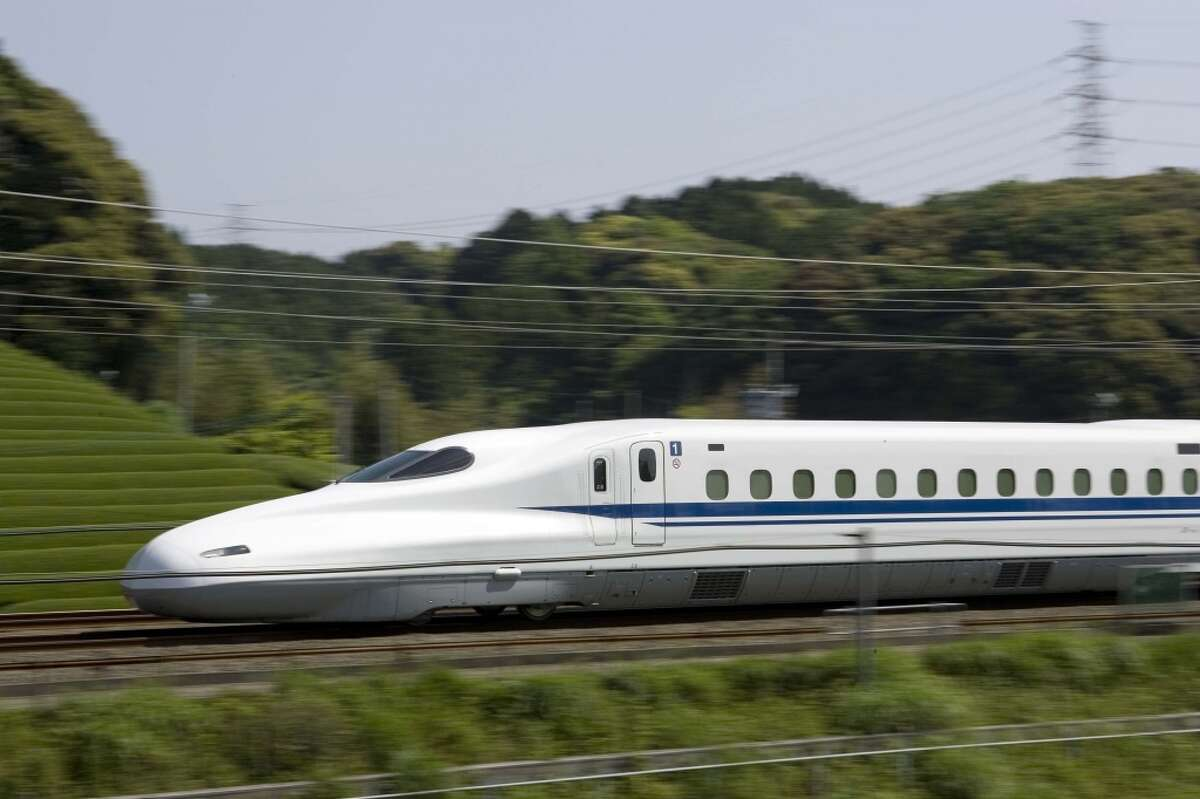 Texas Central Railway plans to operate Japanese trains along a 240-mile route from Houston to Dallas.