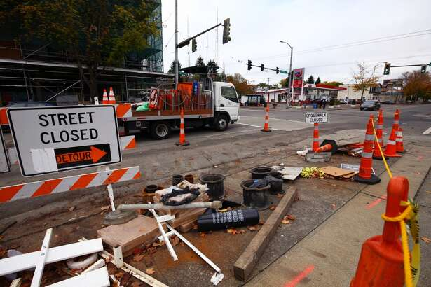 Construction continues at 23rd Avenue and East Union Street.