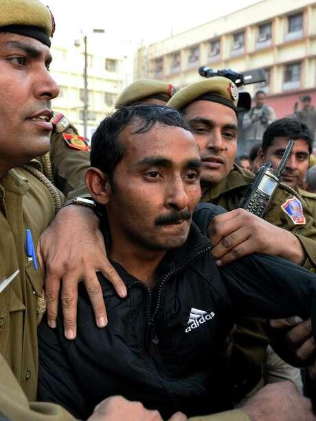 Former Uber driver Shiv Kumar Yadav could face life in prison. Photo: CHANDAN KHANNA, Stringer / AFP