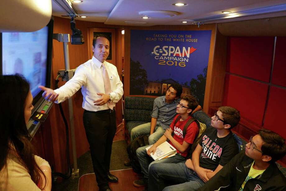 Stevens High School Government Students Take Spin On C