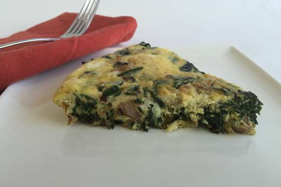Spicy Italian Sausage and Chard Frittata