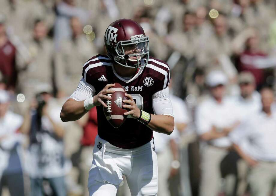 Texas A&M quarterback Kyle Allen says his sore throwing shoulder should be OK in time for Saturday's game. Photo: Eric Gay, STF / AP