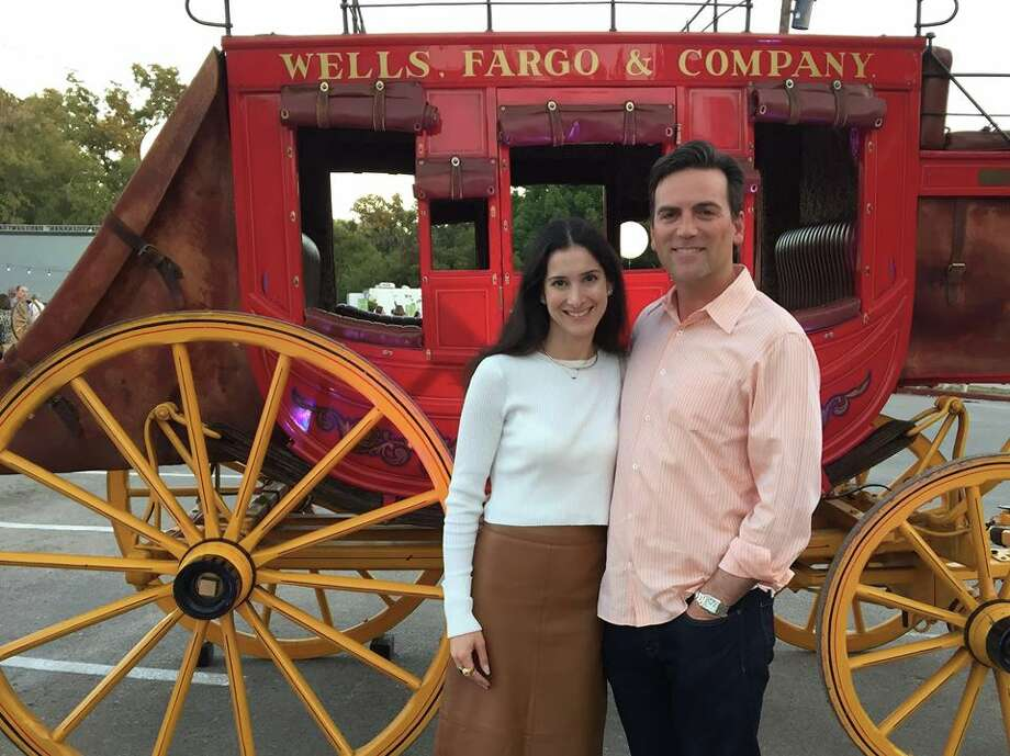 From TV news to a job at the Witte: Jeff Goldblatt enjoyed a recent night out with his wife, Lori, at his future place of work. Photo: Courtesy Jeff Goldblatt