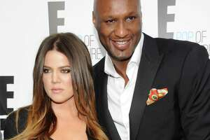 Cameras catch Lamar Odom at Kanye West event - Photo
