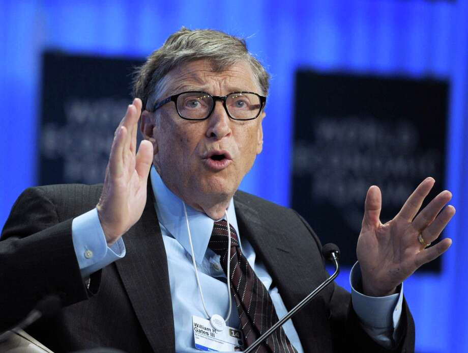 "Bill Gates Gates has said he's ""pretty much an atheist"" and that belief in a god ""makes zero sense."" Maybe if you're the richest man in the world ... Photo: ERIC PIERMONT, Staff / AFP"