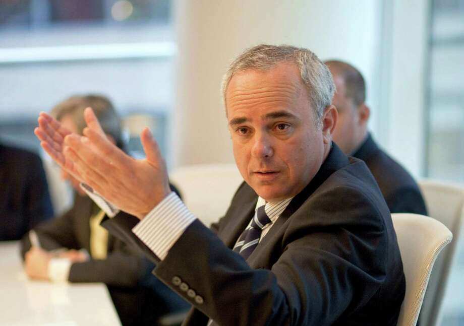 Israeli Energy Minister Yuval Steinitz speaks during an interview in New York in 2010. In a visit to Houston on Tuesday, Steinitz said Israel is close to removing a final barrier that has halted Noble Energy's investment in two major offshore gas fields. Photographer: Tom Starkweather/Bloomberg Photo: Tom Starkweather, 743265 / DirectToArchive