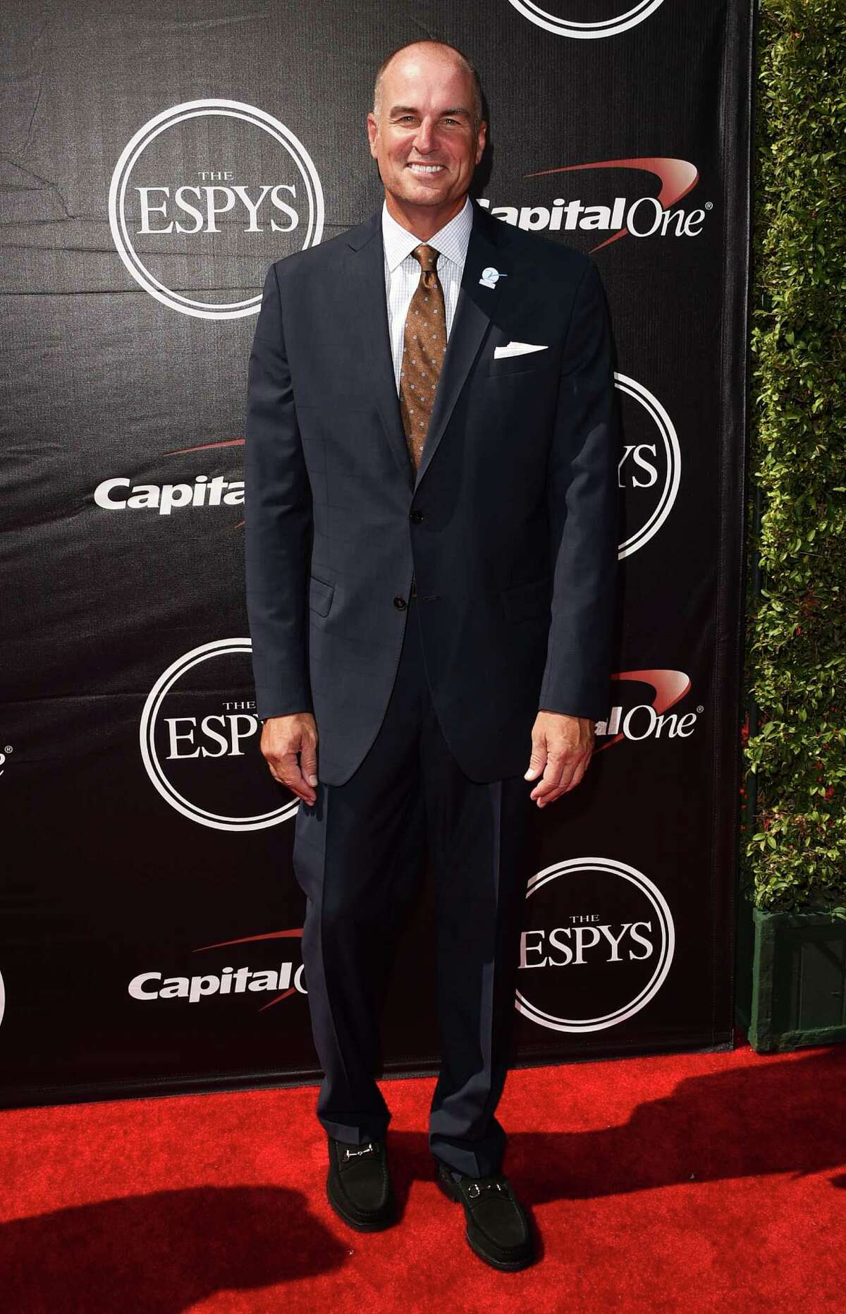 LOS ANGELES, CA - JULY 15: Basketball analyst Jay Bilas attends The 2015 ESPYS at Microsoft Theater on July 15, 2015 in Los Angeles, California. (Photo by Jason Merritt/Getty Images)