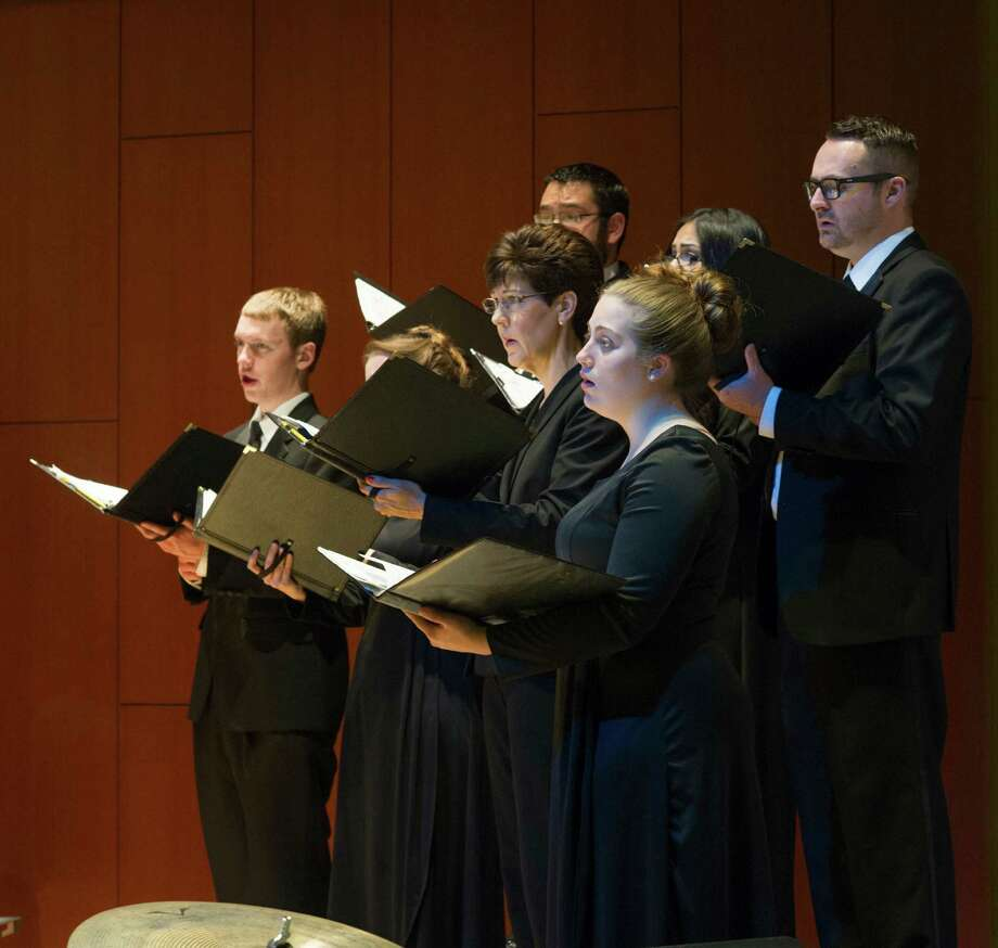 Twenty students and their choir director at Lone Star College-Kingwood will sing with Josh Groban at his Oct. 26 concert at the Hobby Center. Photo: Lone Star College Kingwood