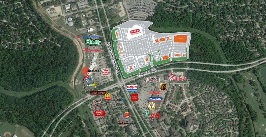 Mainstreet Kingwood, which will be located at the intersection of an already busy Kingwood Drive and West Lake Houston Parkway is expected to see the first occupants move in by late 2016. Photo: Courtesy