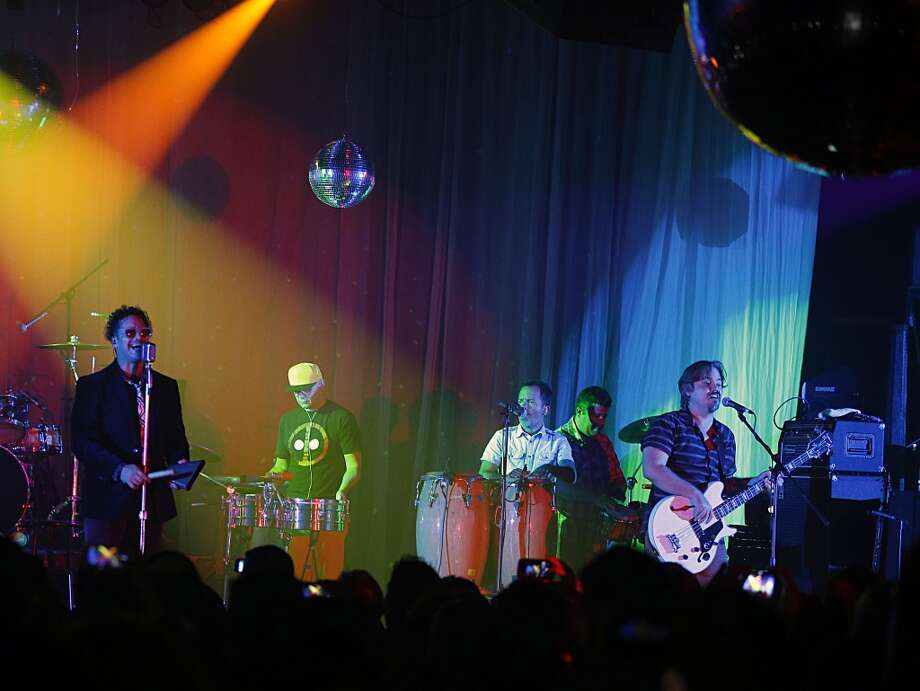 Los Amigos Invisibles, Venezuelan rock fusion band in concert at Numbers Tuesday, Oct. 20, 2015, in Houston. Photo: James Nielsen, Houston Chronicle