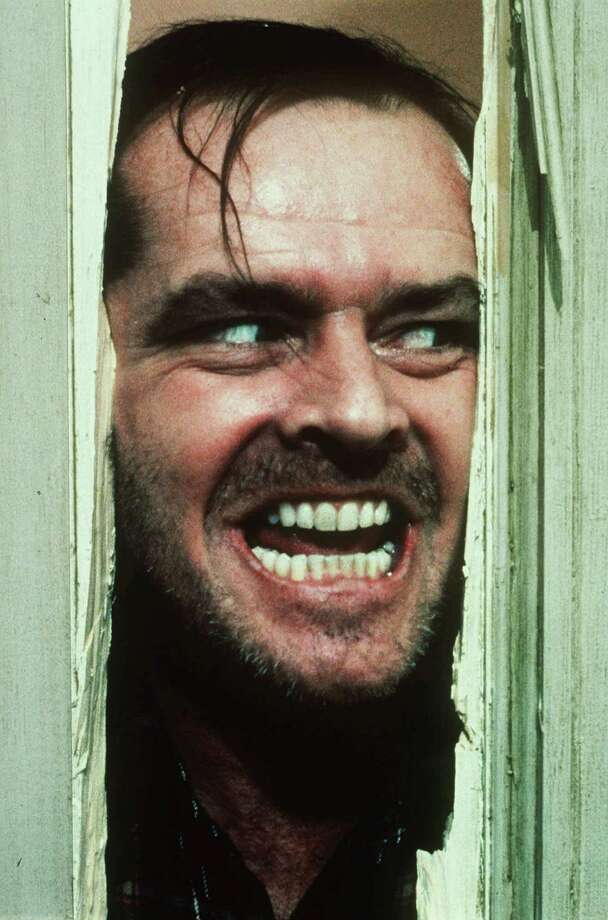 """In an undated handout photo, Jack Nicholson in Stanley Kubrick's 1980 film """"The Shining."""" """"Room 237,"""" a new documentary by Rodney Ascher released in 2013, features a small assortment of obsessives who have developed  baroque theories about the true meaning of """"The Shining."""" (Warner Brothers via The New York Times) -- NO SALES; FOR EDITORIAL USE ONLY WITH STORY SLUGGED FILM ROOM 237 ADV31 BY DAVID SEGAL. ALL OTHER USE PROHIBITED. -- PHOTO MOVED IN ADVANCE AND NOT FOR USE - ONLINE OR IN PRINT - BEFORE MARCH 31, 2013. Photo: WARNER BROTHERS, HO / WARNER BROTHERS"""