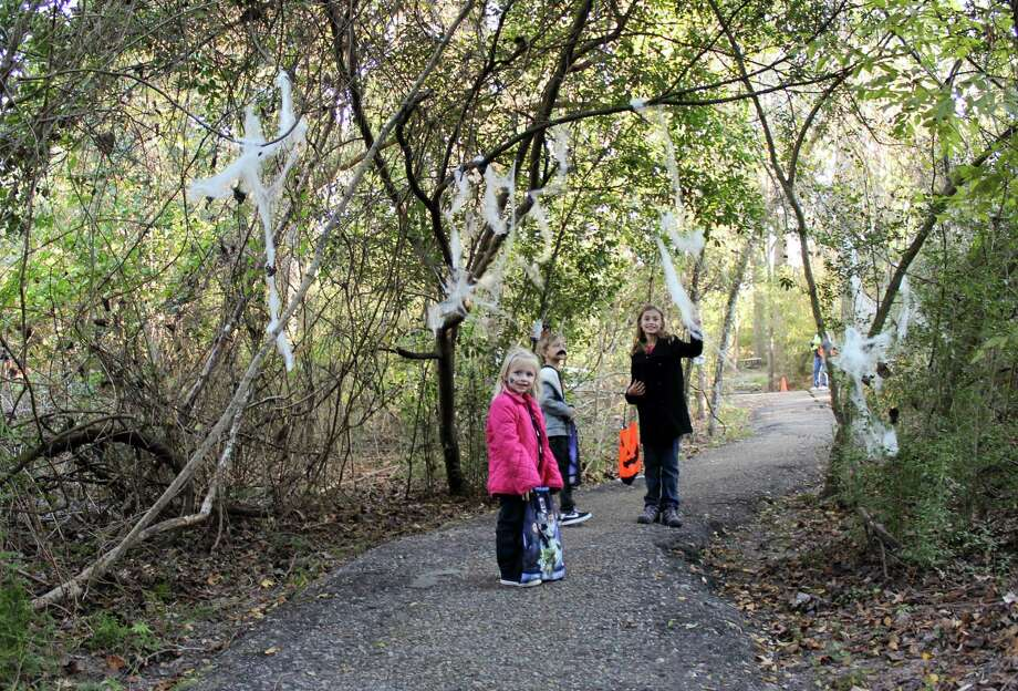 "Children ages 12 and younger are invited to don their costumes for a stroll along the ""Faces of the Forest Trail"" at Jesse H. Jones Park & Nature Center. Photo: Courtesy Photo"