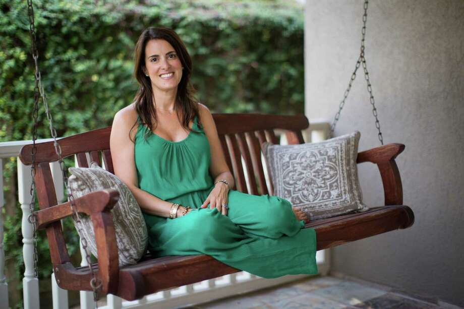 "Ali Katz is a certified meditation teacher, self-care coach, a mother of two sons and the author ""Hot Mess to Mindful Mom."" As a meditation teacher Katz helps her clients achieve a balanced life decreasing damaging stress levels. Friday, Aug. 28, 2015, in Houston. ( Marie D. De Jesus / Houston Chronicle )    Ali Katz is a certified meditation teacher, self-care coach, a mother of two sons and the author ""Hot Mess to Mindful Mom."" As a meditation teacher Katz helps her clients achieve a balanced life decreasing damaging stress levels. Friday, Aug. 28, 2015, in Houston. ( Marie D. De Jesus / Houston Chronicle ) Photo: Marie D. De Jesus, Staff / © 2015 Houston Chronicle"