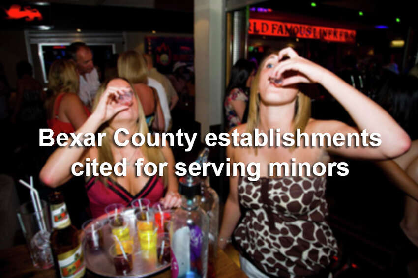 TABC slapped 20 stores, bars and other establishments in the San Antonio area for serving alcohol to underage drinkers so far in 2016, records show.Scroll through the slideshow to see which places were caught selling booze to minors.