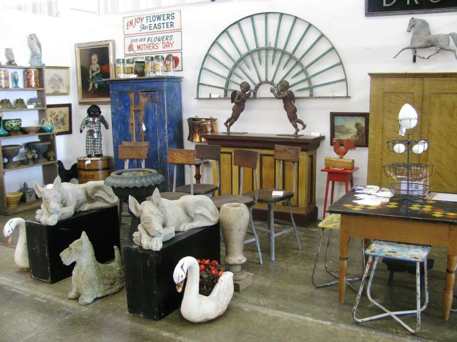 The Wilton Fall Antiques Market takes place Sunday, Oct. 25, from 9 a.m. to 5 p.m. at the Wilton High School Field House on Route 7, to benefit the Wilton Historical Society. Photo: Contributed Photo