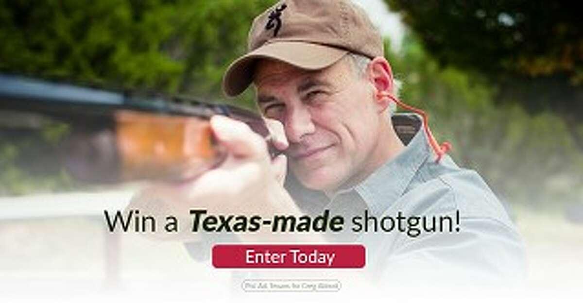 Photo from Greg Abbott's campaign blast.