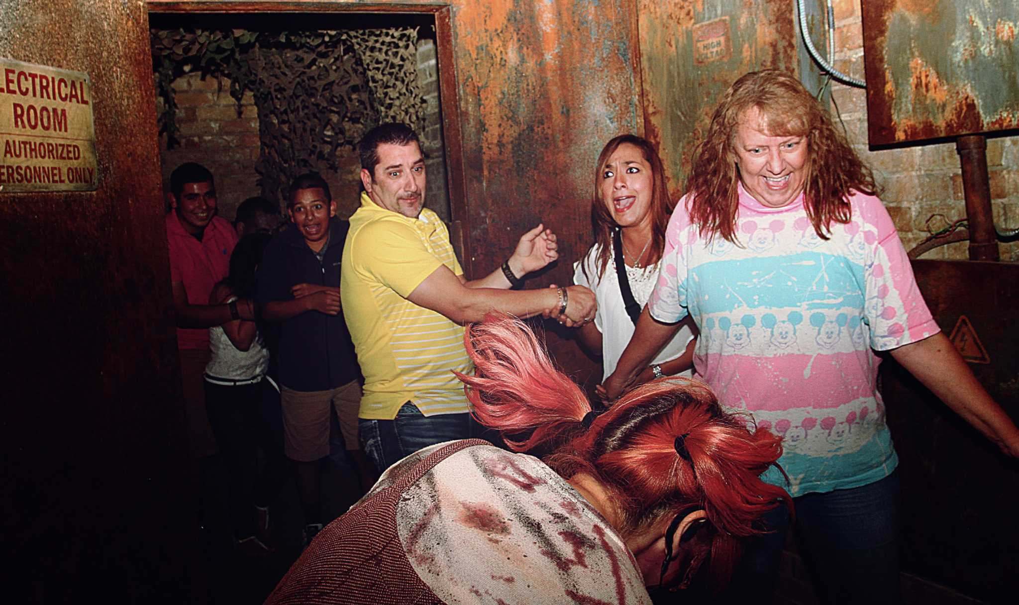 Faces of fear from san antonio s 13th floor haunted house for 13th floor south africa