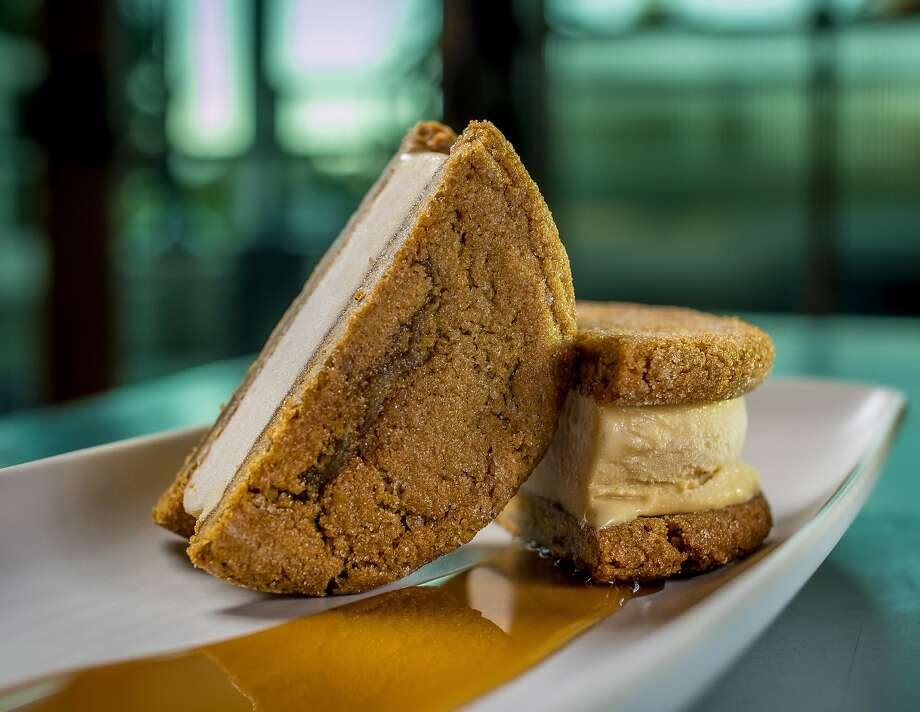 The Crystal Malt Ice Cream sandwich at Sessions at the Presidio restaurant in San Francisco, Calif. is seen on Tuesday, October 20th, 2015. Photo: John Storey, Special To The Chronicle