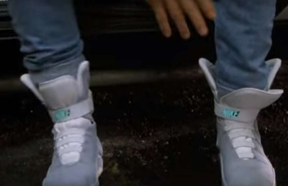 Nike Gives Michael J. Fox First Pair of Power Laces MAG