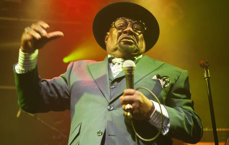 George Clinton and Parliament Funkadelic perfom live on stage at Electric Ballroom on August 7, 2015 in London, England.