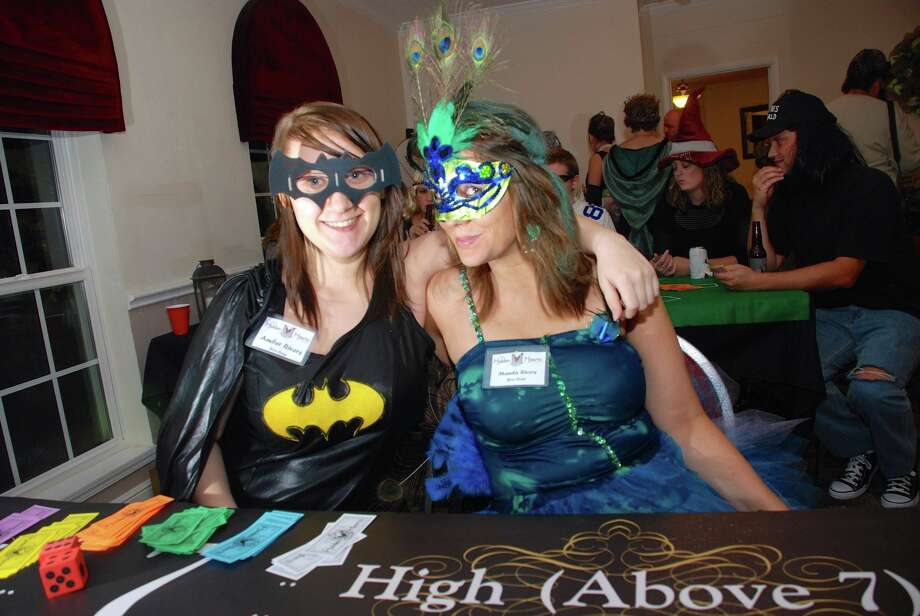 The fourth annual Boo Bash will be at the Mason Creek Community Center from 6-10 p.m  Saturday, Oct. 24, with all proceeds benefiting Mik's Hidden Hearts Alliance. Above are attendees of last year's Halloween party. Photo: Brett Perroux