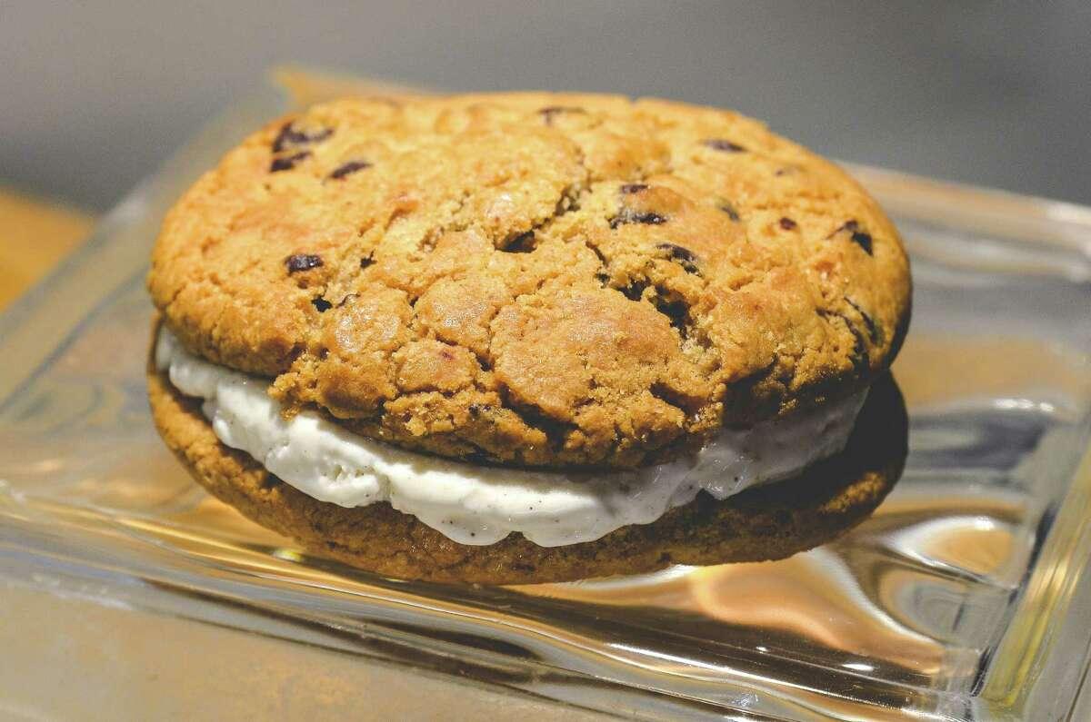 Chocolate chip cookie sandwich $6.50