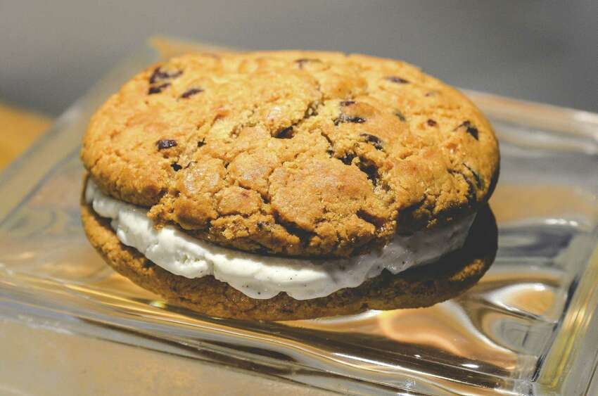 Chocolate chip cookie sandwich $6.50