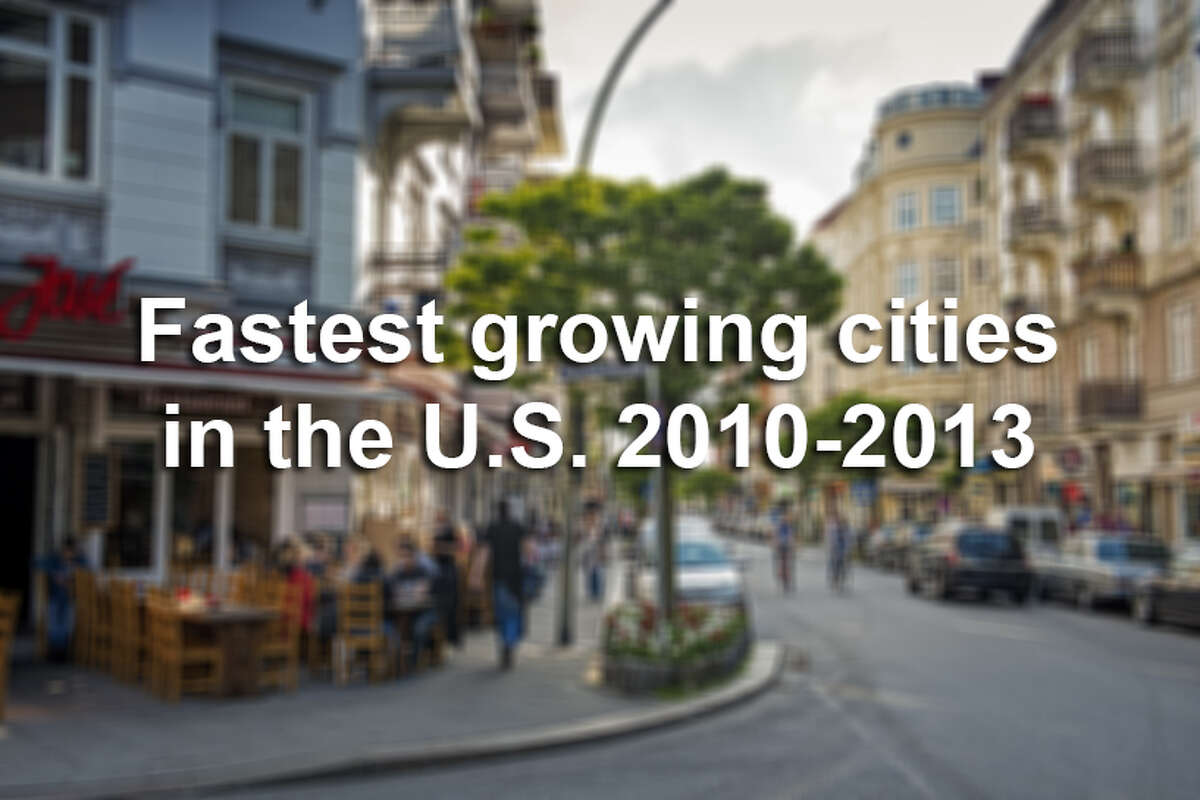 Here are the 10 fastest growing cities in the United States, based on data from the U.S. Census Bureau and analysis from MooseRoots.