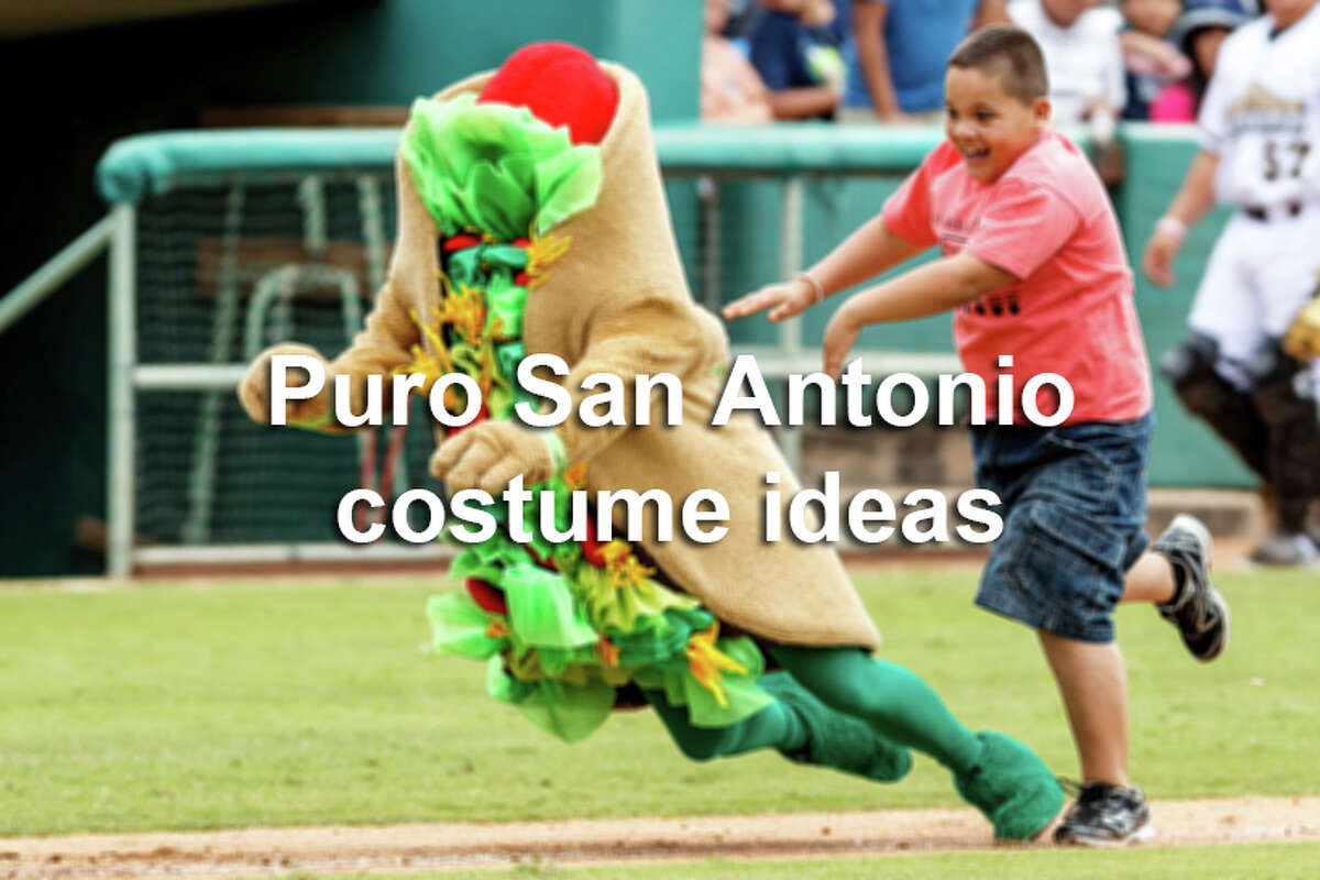 These icons of the Alamo City are so recognizable that they would make great Halloween costumes.