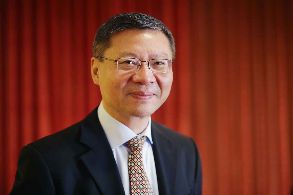 Zhang Weiwei, director Centre for China Development Model Research, Fudan University, stands for a portrait on Wednesday, October 21, 2015 in San Francisco, Calif.